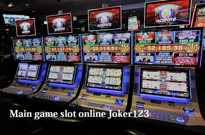 Main game slot online Joker123